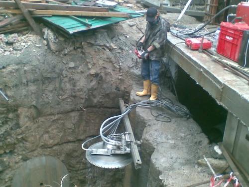 Специализация компании Теплоэнергомонтаж - алмазная резка бетон, железобетон Донецк.