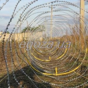 Спиральный барьер безопасности СББ Егоза-Супер 1350/9