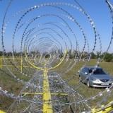 Спиральный барьер безопасности СББ Концертина 700/7