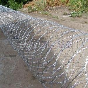 Спиральный барьер СББ Егоза Кайман 900/7, колючая проволока
