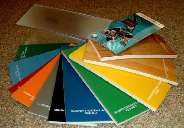 Спортивный линолеум TARKETT OMNISPORTS REFERENCE толщина 6.5 мм - все цвета на складе