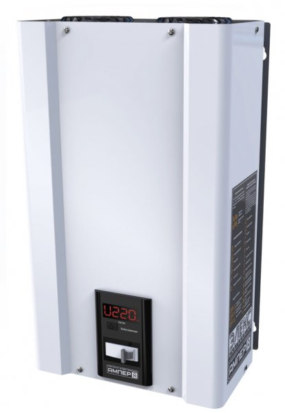 Фото  1 Однофазный стабилизатор напряжения Ампер У 12-1-80 v2.0 18,0кВА 1975423