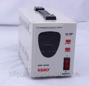 Стабилизатор напряжен Kebo SDR-500VA