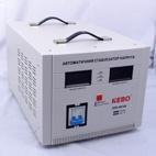 Стабилизатор напряжения, KEBO IDR-8000VA, сервоприводный