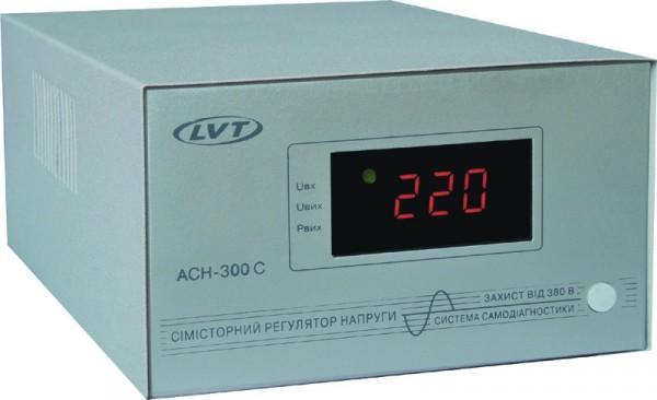 Стабилизатор напряжения львовский LVT АСН-300 С Семисторный