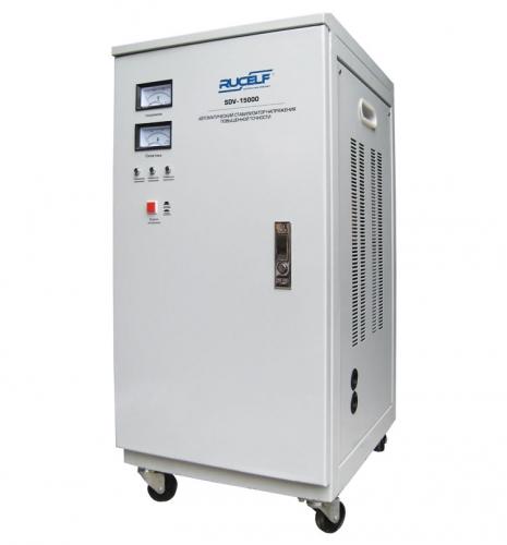 Стабилизатор напряжения SDV-15000 RUCELF