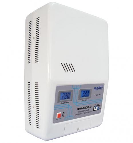 Стабилизатор напряжения SDW-8000 RUCELF