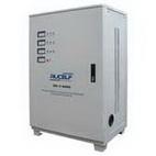 Стабилизатор напряжения трехфазный RUCELF SDV-3-60000 вертикального типа, мобильный