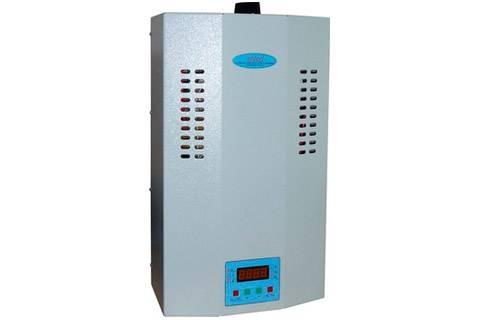 Стабилизатор переменного напряжения 1ф (7,5 кВт) к-во ступеней: 16 точность стабилизации: 220±3 масса: 23кг