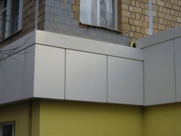 Стальные фасада (кассеты, панели) для вентилируемых фасадов