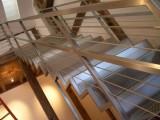Нержавеющие перильные ограждения, поручни для лестницы с тросами