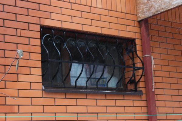 стальные кованые решетки на окна
