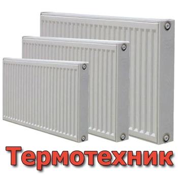 Стальной отопительный панельный радиатор Термотехник. Модель: 11РК 300*400