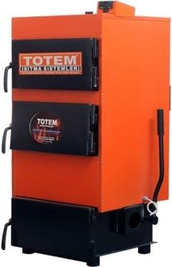 Стальной твердотопливный котел на угле ТОТЕМ TKY-22 мощность 25кВт