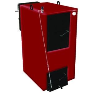 Стальной жаротрубный комбинированый котел, работающий на твердом топливе и природном газе.