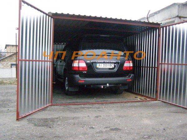 Фото 3 гаражі з профілю і листового металу 329398