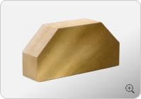 Стандартный полнотелый гладкий 2-х угловой кирпич