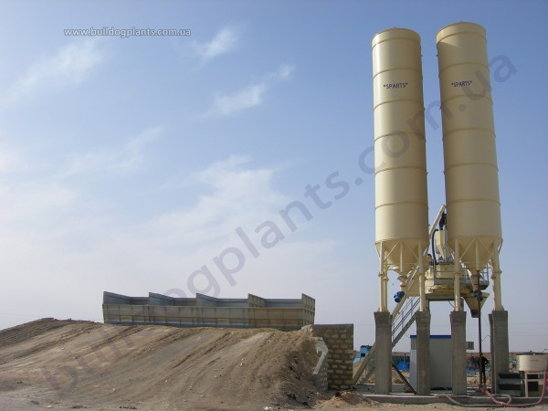 Стационарный бетонный завод, 30 м3/час