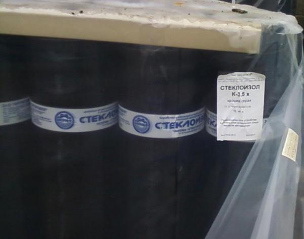 Стеклоизол ХКП гранулят серый, 3,5 мм, стеклохолст (Россия)