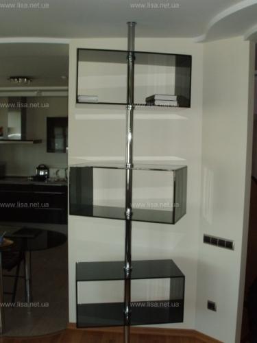 Стеклянны системы мебель