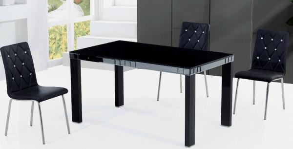 Стеклянные столы JL0012 для кухни, стеклянный стол в кухню JL0012 Украина, купить недорогой качественный