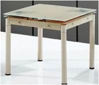 Стеклянный стол TB008-5 кремовый, шампань, черный, серый купить Киев, купить кухонный стеклянный стол TB008-5 шампань