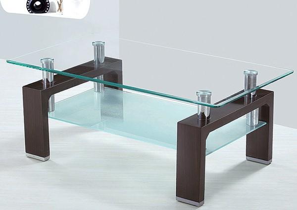 Стеклянный стол TC008-2 (Lisa), купить недорогой стеклянный журнальный стол TC-008-2 доставка Киев