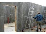 Фото  1 Обшивка по каркасу-обрешетке плитами ЦСП толщина 12мм, размер плиты 3200 х1200 х 12мм, размер листа 3.84м2 2058552