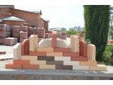 Фото 1 Облицовочный кирпич Белая Церковь .Красный,персик . 339607