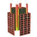 Стеновая опалубка, система P300, панель угловая внутренняя (10 10)х300, площ. Ед. М2 0,6