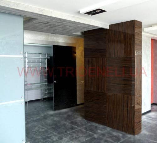 стеновая панель, покрытие - натуральный шпон