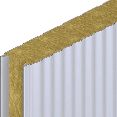 Фото  1 Стеновая сэндвич-панель Мелкопрофильный тип (Silk line) 2142024
