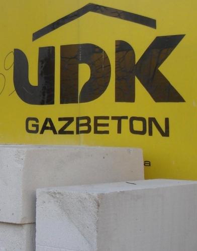 Стеновые блоки из газобетона UDK