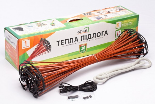 Стержневой инфракрасный теплый пол GTmat S-103