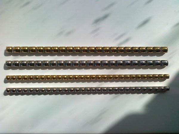 Стик Бусинка 0,7х25 и 1х25 золото, платина оптом и в розницу со склада