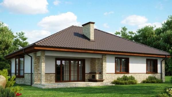 Стильный канадский дом