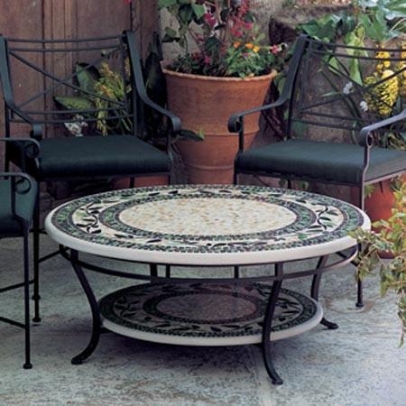 Стільниця з мармурової мозаїки