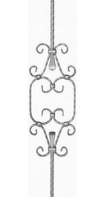 Стойка перил - 12402 - кованые элементы, ковка