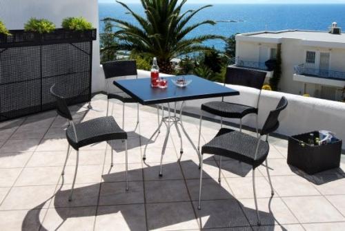 Стол и стулья для ресторанов и кафе 2