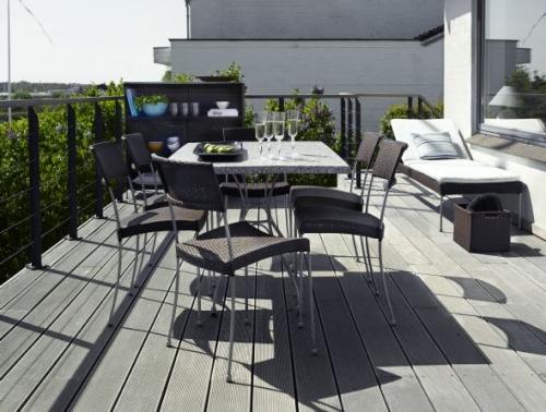 Стол и стулья для ресторанов и кафе 3