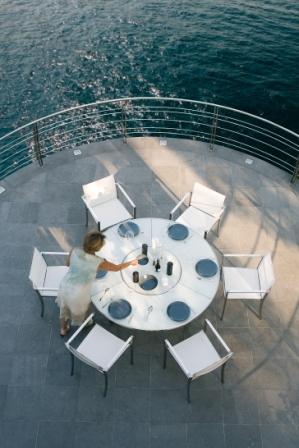 Стол и стулья Royal Botania 2