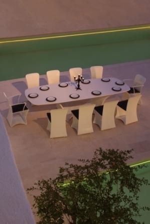Стол и стулья Royal Botania