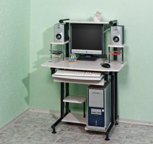 Стол компьютерный 607 Материал: МДФ Габариты: мм, ГхШхВ560х820х750(115 0)