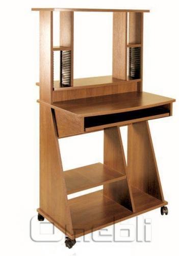 Стол компьютерный С-500 ольха A10015