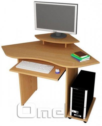 Стол компьютерный С-546 ольха A10031