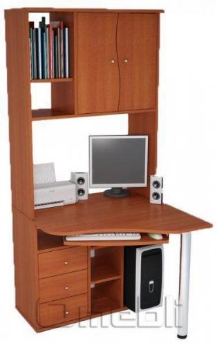 Стол компьютерный С-825 ольха A10022