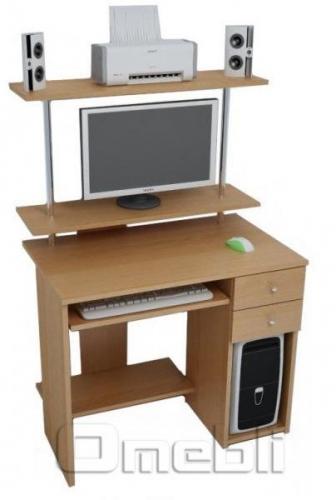 Стол компьютерный С-830 ольха A10025