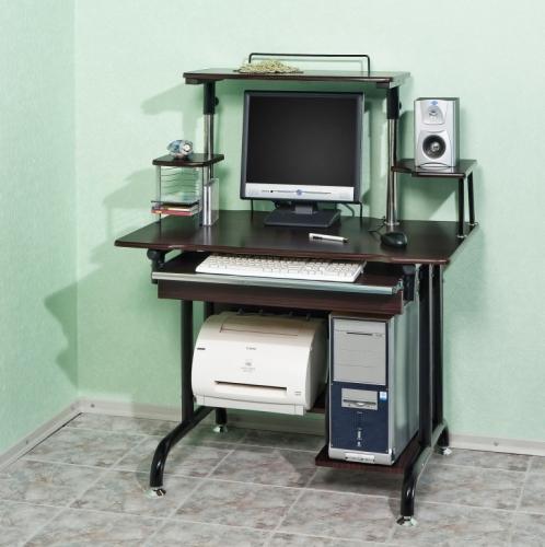 Стол компьютерный VS-8В Материал: МДФ Габариты: мм, ГхШхВ600х970х750(120 0)