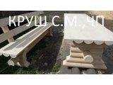 Фото 1 деревянный стол из оцилиндрованного бруса 338408