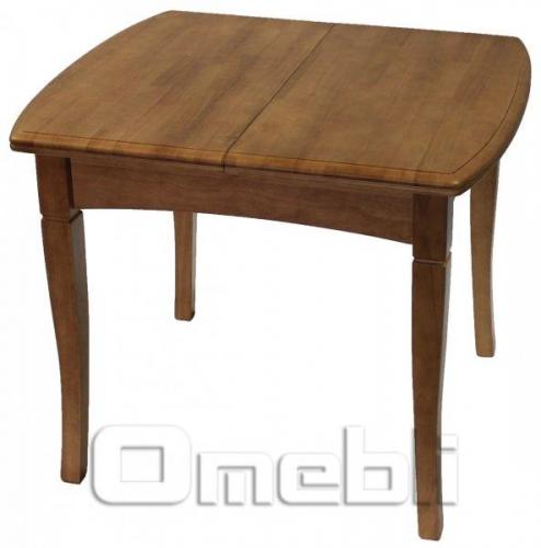 Стол обеденный А13 темное дерево A9934